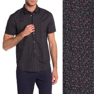 Floral Woven Shirt By John Varvatos